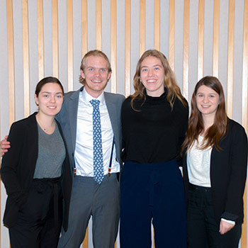 Laurier Geography and Environmental Studies students win $2,000 prize for project on Cambridge's heritage properties register