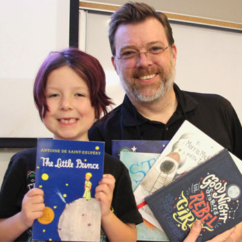 Laurier class gets first-hand understanding of books through the eyes of children