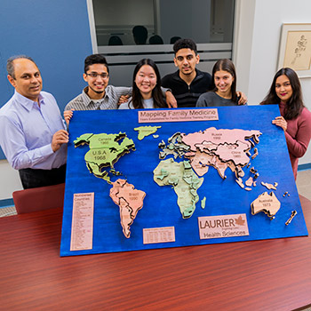 Award-winning research by Laurier Health Sciences students explores family medicine around the world