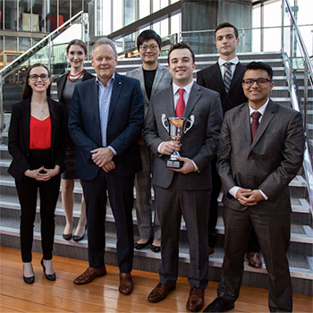 Laurier Economics students victorious in Bank of Canada Governor's Challenge