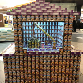 Laurier Faculty of Science's 'Canstruction' helping raise funds for our community Food Bank